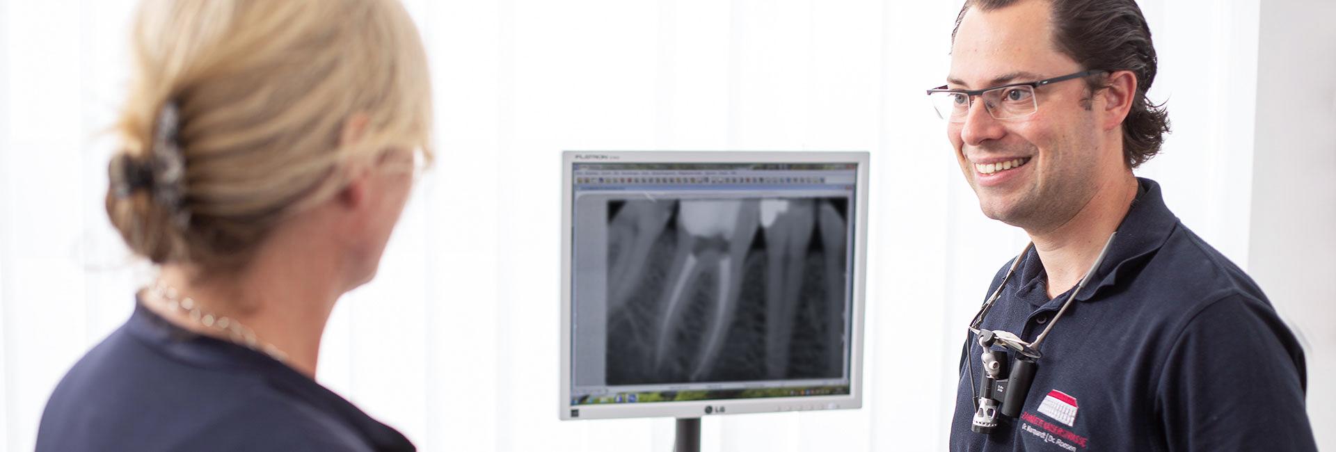 Endodontie - Zahnärzte Kaiserstrasse in Mülheim an der Ruhr